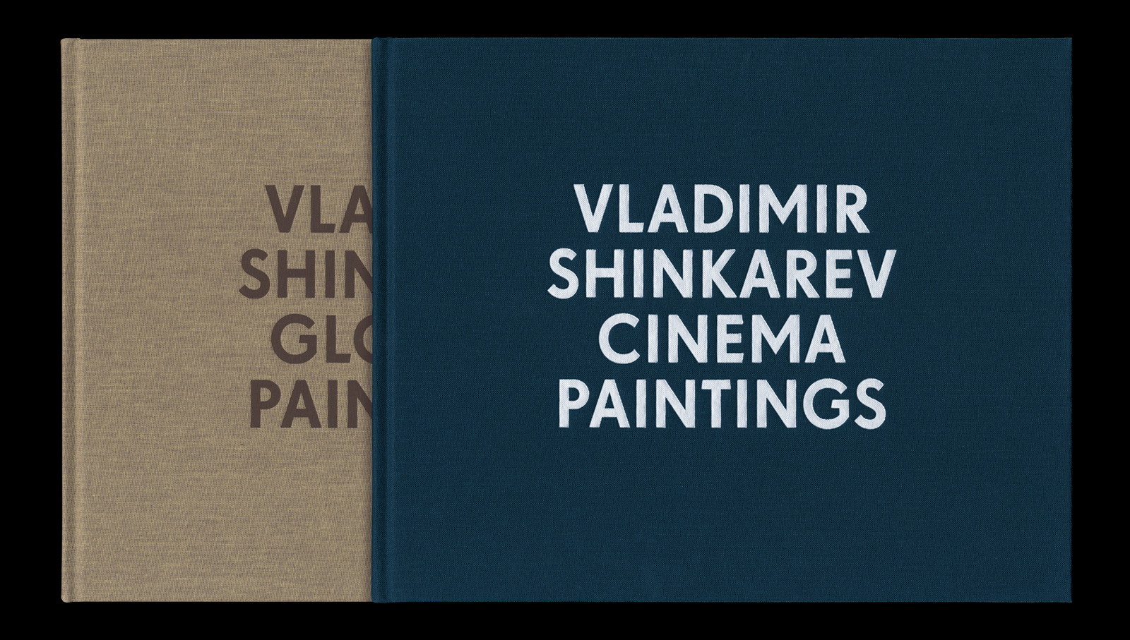 Vladimir Shinkarev. Gloomy Paintings/Cinema Paintings. Fotografie: Ian Brown, Oslo / Bibliothek Rijksakademie, Amsterdam