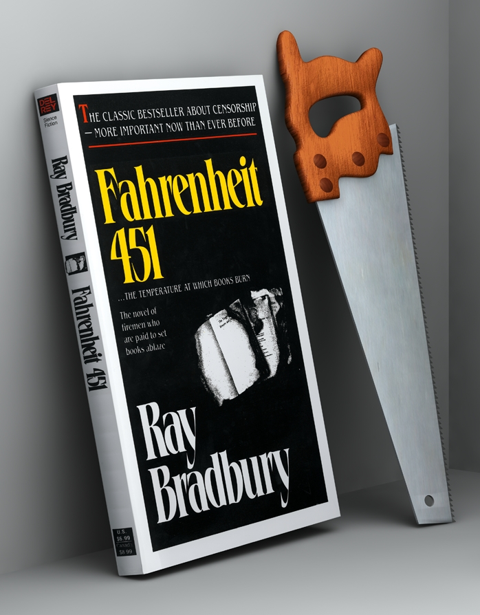 'Fahrenheit 451. The Temperature at Which Books Burn'. Fotografie: Thomas Traum & Carl Burgess, London