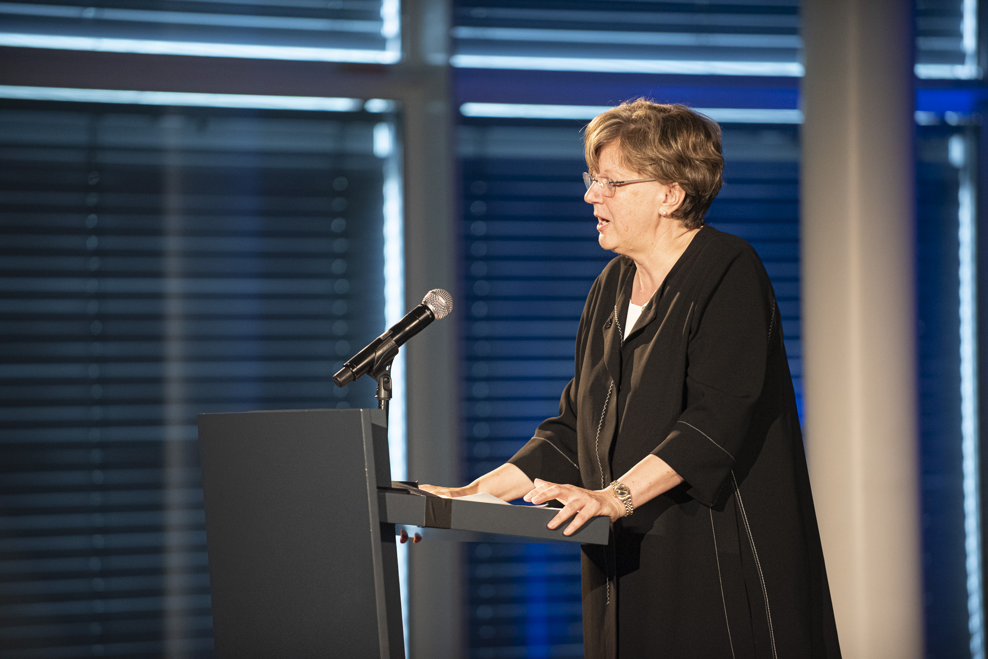Swiss Design Awards ceremony, Director of the Federal Office of Culture, Isabelle Chassot