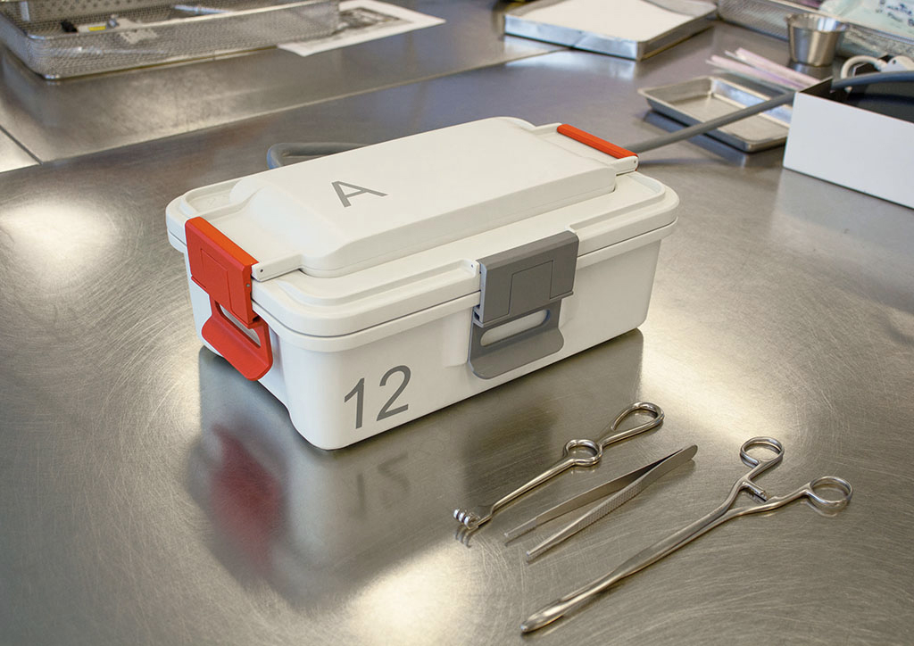 Sterilux (sterilizinh box for medical instruments), 2017