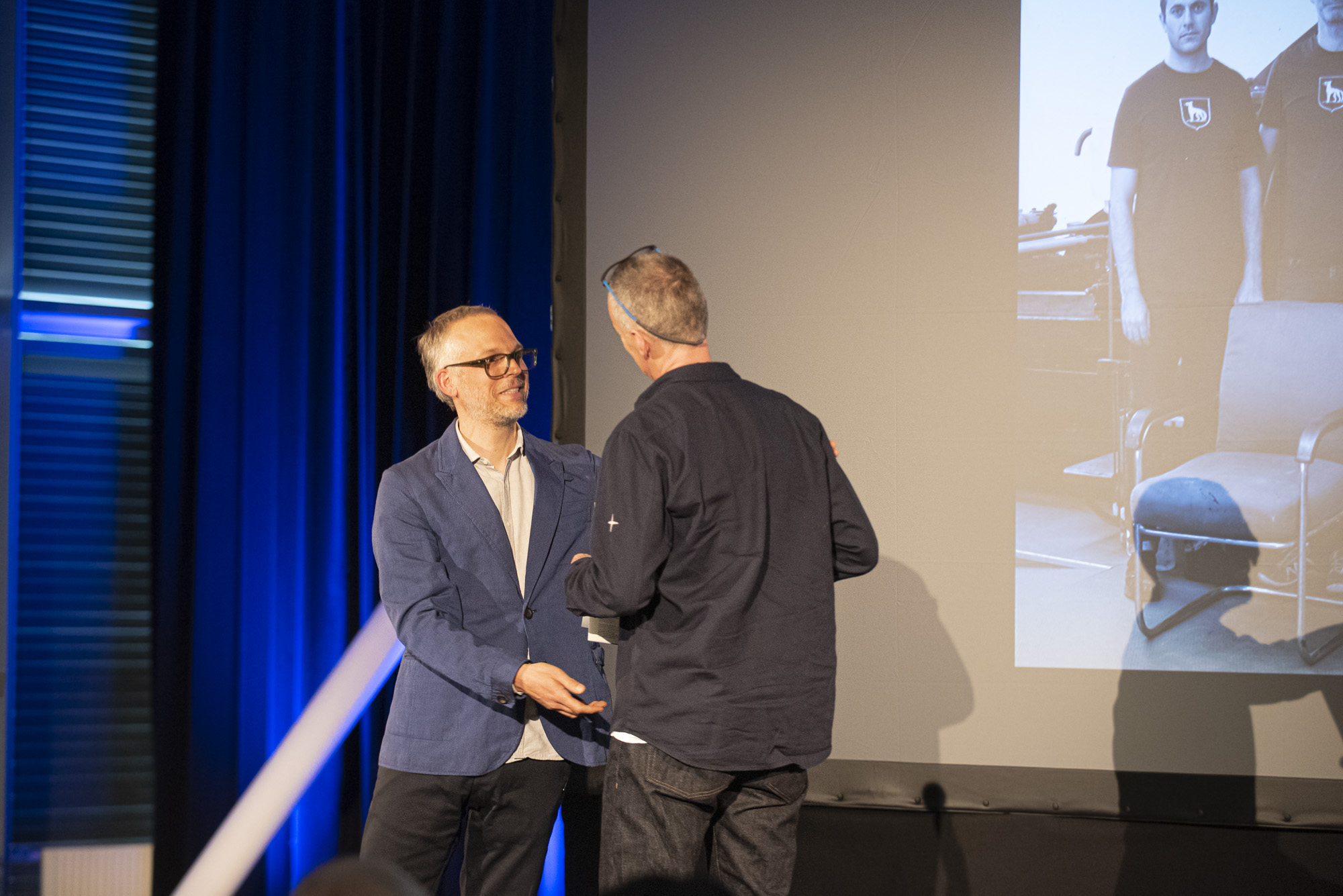 Swiss Design Awards ceremony, Laurent Benner and Thomi Wolfensberger